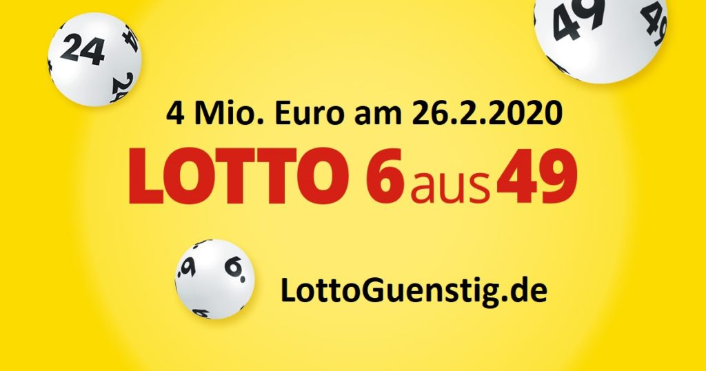 Lottozahlen 26.2.2020